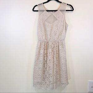 """Jack """"Gabrielle"""" Lace & Mesh Dress - #1225"""